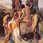 Zenobia Found by Shepherds on the Banks of the Araxes, Adolphe William Bouguereau