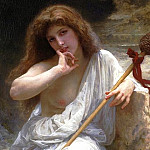 Bacchante, Adolphe William Bouguereau
