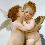 Adolphe William Bouguereau - Cupid and Psyche
