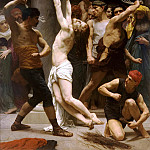 Adolphe William Bouguereau - The Flagellation of Christ