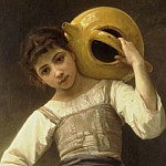 Adolphe William Bouguereau - Girl Going to the Fountain