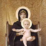 Madonna and Child Enthroned, Adolphe William Bouguereau