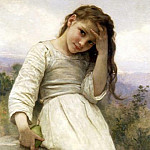 Adolphe William Bouguereau - The Little Marauder