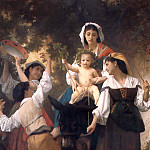Adolphe William Bouguereau - The Return from the Harvest