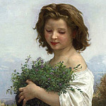 A Little Esmeralda, Adolphe William Bouguereau