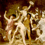 Youth of Bacchus , Adolphe William Bouguereau