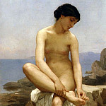 Adolphe William Bouguereau - The Bather