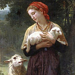 Adolphe William Bouguereau - The Shepherdess