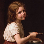 Adolphe William Bouguereau - Soup