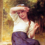 Adolphe William Bouguereau - daisy
