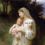 innocence, Adolphe William Bouguereau