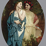 Procne and Philomela, Adolphe William Bouguereau