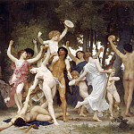 Youth of Bacchus, Adolphe William Bouguereau