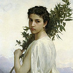 Adolphe William Bouguereau - Laurel Branch
