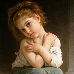 Adolphe William Bouguereau - Chilly girl