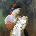 Admiration Maternelle, Adolphe William Bouguereau