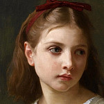 Adolphe William Bouguereau - A Little Girl