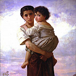 Adolphe William Bouguereau - Young Bohemian