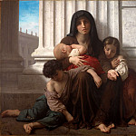 Indigent Family, Adolphe William Bouguereau