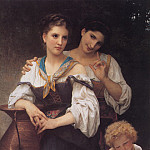 Adolphe William Bouguereau - The Secret