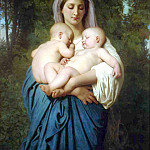 Adolphe William Bouguereau - Charity