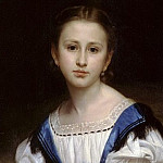 Portrait Mlle Brissac, Adolphe William Bouguereau
