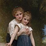 Adolphe William Bouguereau - Two sisters