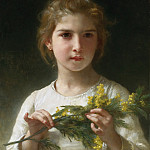 MIMOSA, Adolphe William Bouguereau