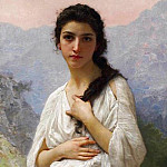 The Waiting, Adolphe William Bouguereau