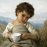 MILK CUP, Adolphe William Bouguereau