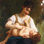 Adolphe William Bouguereau - The Joys of Motherhood
