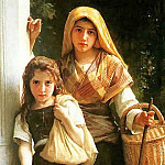 Adolphe William Bouguereau - Young beggar
