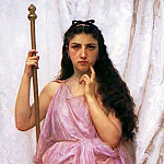 Priestess, Adolphe William Bouguereau