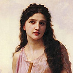 Adolphe William Bouguereau - Meditation