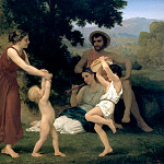 Adolphe William Bouguereau - Pastoral