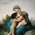 Brotherly love, Adolphe William Bouguereau