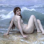 Adolphe William Bouguereau - The wave