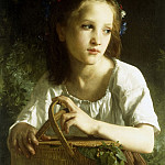 La Petite Ophelie, Adolphe William Bouguereau