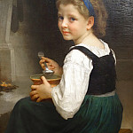 Adolphe William Bouguereau - Girl Eating Porridge