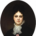 A portrait of Mrs. Addison Head, Adolphe William Bouguereau