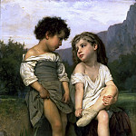 Adolphe William Bouguereau - Young Bathers