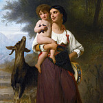 Adolphe William Bouguereau - Convoitise
