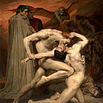 Adolphe William Bouguereau - Dante and Virgil in Hell