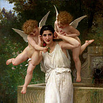 Adolphe William Bouguereau - Youth