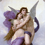 Adolphe William Bouguereau - The Abduction of Psyche