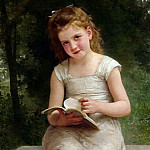 The diary, Adolphe William Bouguereau