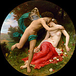 Flora and Zephyr, Adolphe William Bouguereau