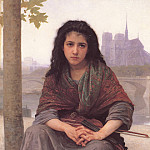 The Bohemian, Adolphe William Bouguereau