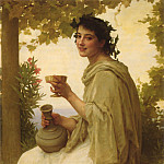 Adolphe William Bouguereau - Bacchante