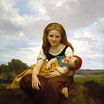 Adolphe William Bouguereau - Elder Sister